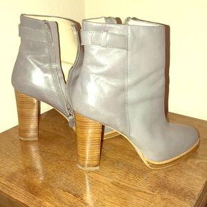 Zara Leather Booties